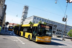 "The ""Echoes of the Bell of Birth"" ring in Aarhus city buses"