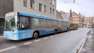 Bus drivers in Aarhus will not be considered front line personnel for the new covid-19 vaccine