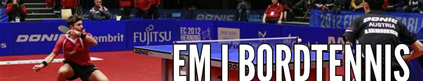EM i Bordtennis 2012
