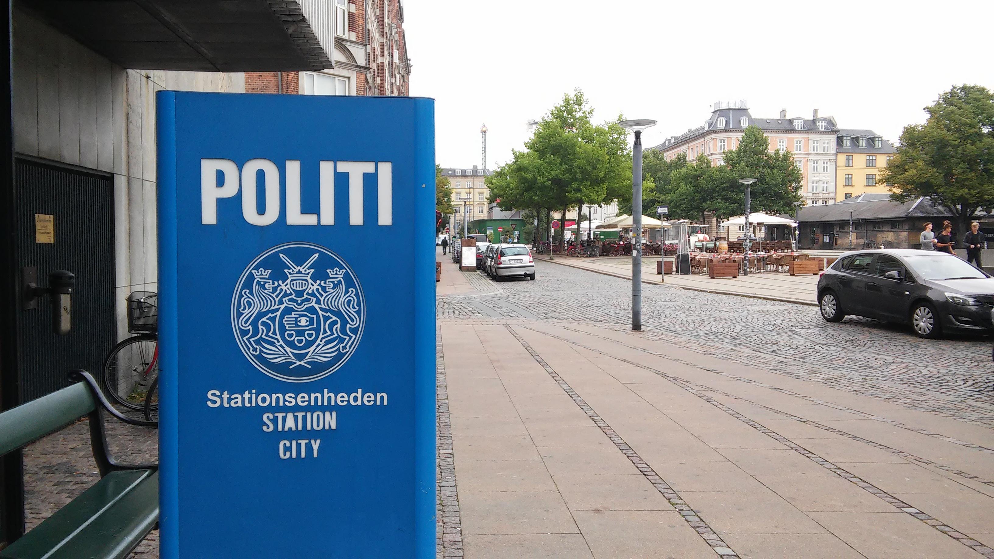 Copenhagen police station. Photo: Amy Melki