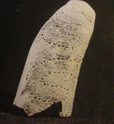 Dildo 4200 år f.v.t. Poleret ben med slangemønster