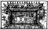 Etruskiske kvinder i dans omkring en grav 500 f.v.t. VatticAnus højen fungerede også som gravplads