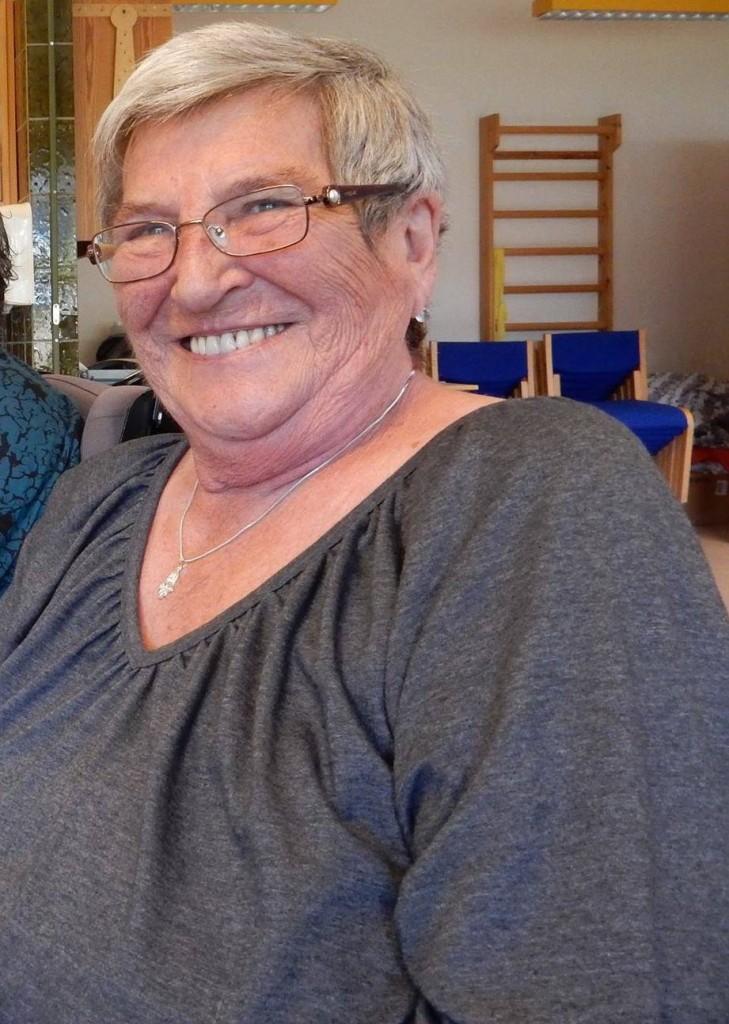 Bodil Olsson, 82 år, har stadig masser af mod på livet, nye venner og oplevelser. Foto: Tinie Maibøll
