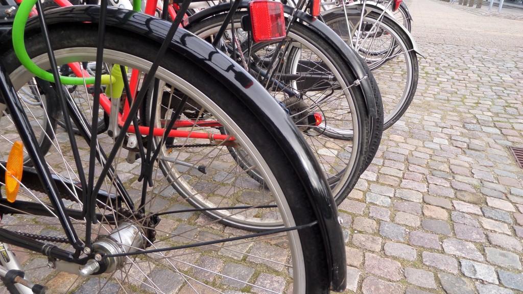 Billedtekst: Drastisk fald i cykeltyverierne - til glæde for frederikshavnerne. Foto: Marie-Louise Kjær