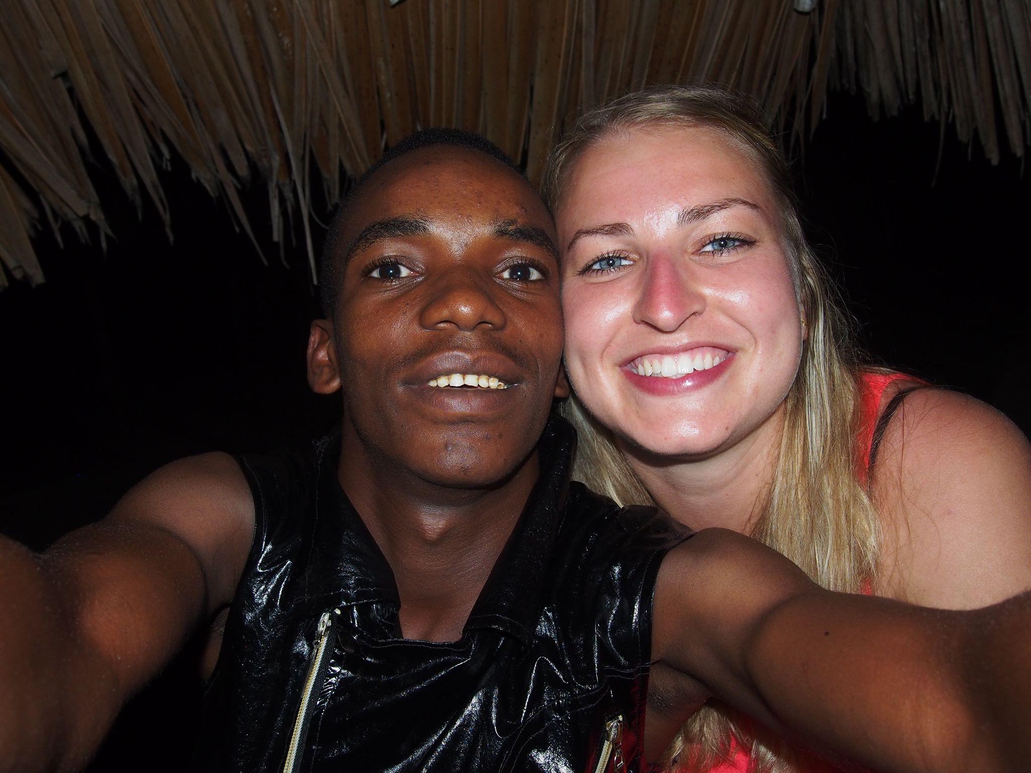 Boyca Moses and Amanda Petersen. Selfie: Boyca Moses.