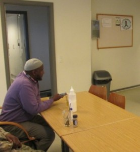 DanishSomalis enjoy coming to the community house in Aarhus. Here they for example play pool,  drink coffe or help the kids with their homework