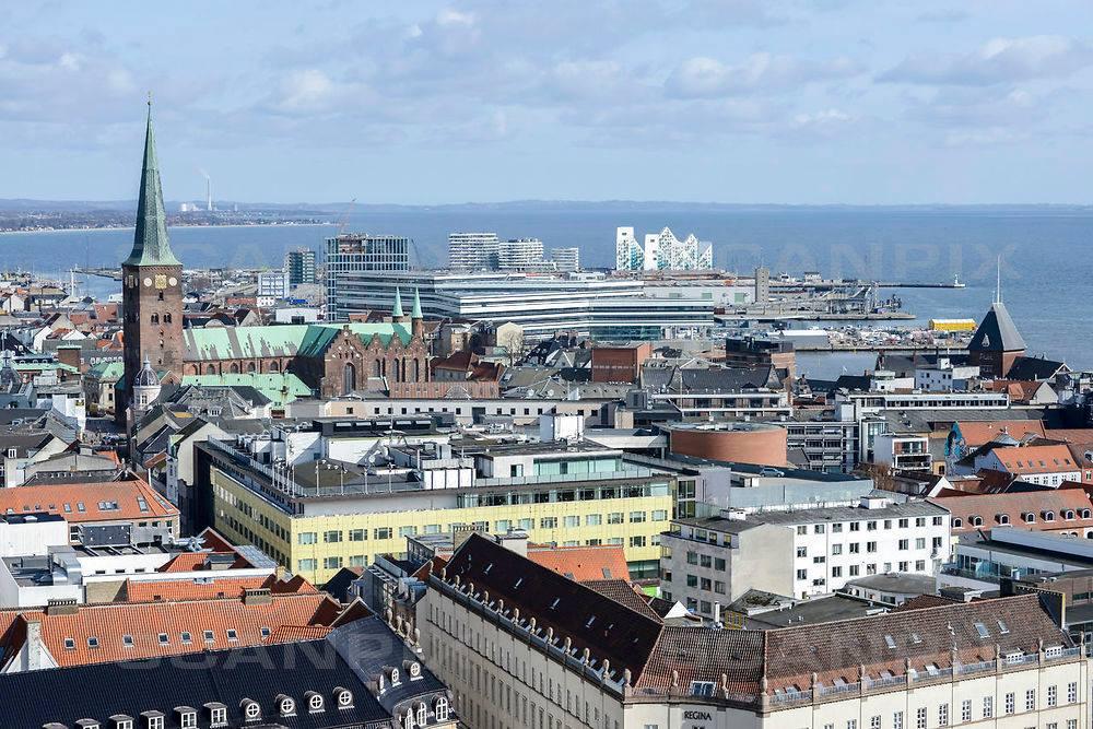 Aarhus danner i 2017 ramme som europæisk kulturhovedstad. Foto: Scanpix