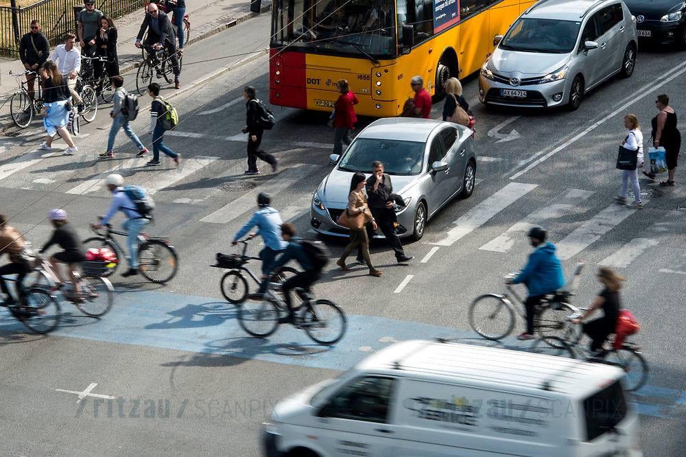 Vejles fodgængere udfordres i trafikken