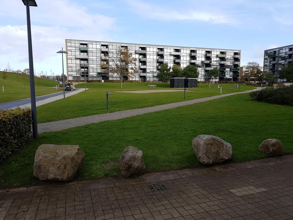 Det går fremad for Finlandsparken