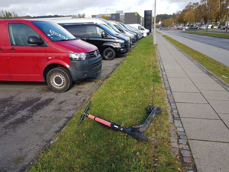Ulykker på el-løbehjul bekymrer ikke Vejlepolitikere