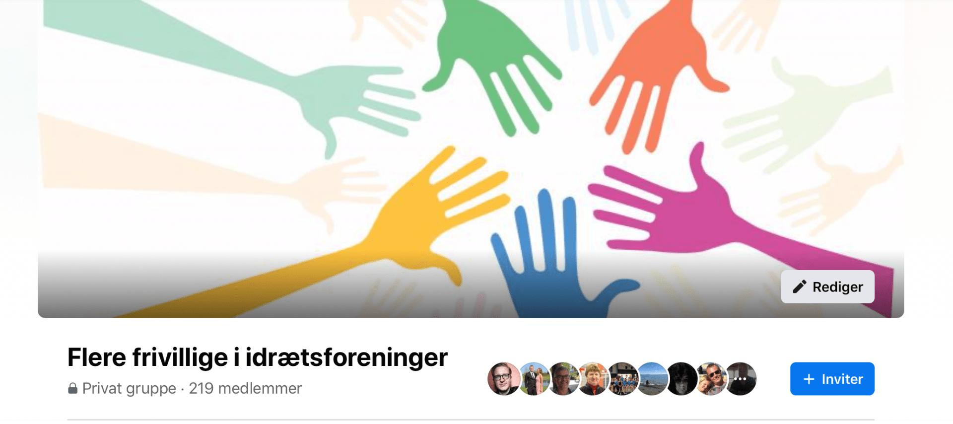 Bliv medlem af vores Facebookgruppe