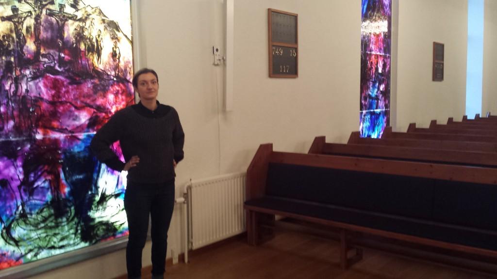 Præst Katrine Blinkenberg oplever ofte, at der bliver talt om spøgelser. Foto: Signe Hansen