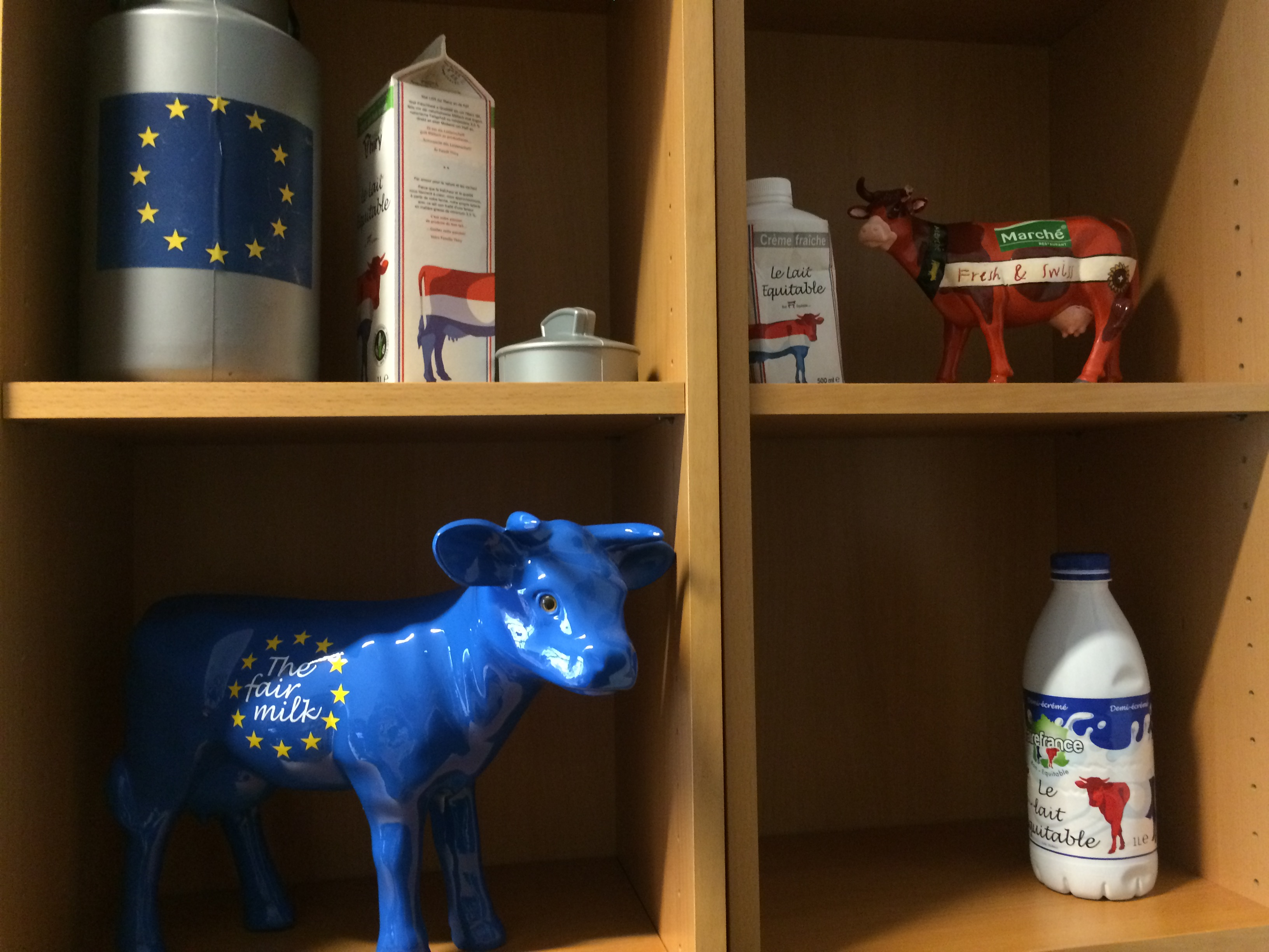 EU Milk Shelf