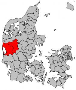Den samlede styrke skal efter den 1. januar 2016 se efter en stor del af Jylland.
