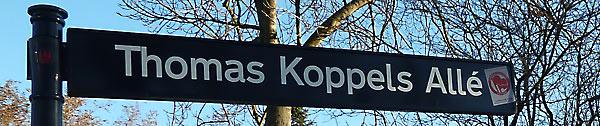 Thomas Koppels Allé - den tidligere Pumpehusvej