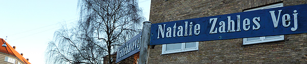 Natalie Zahlesvej, Sydhavnen