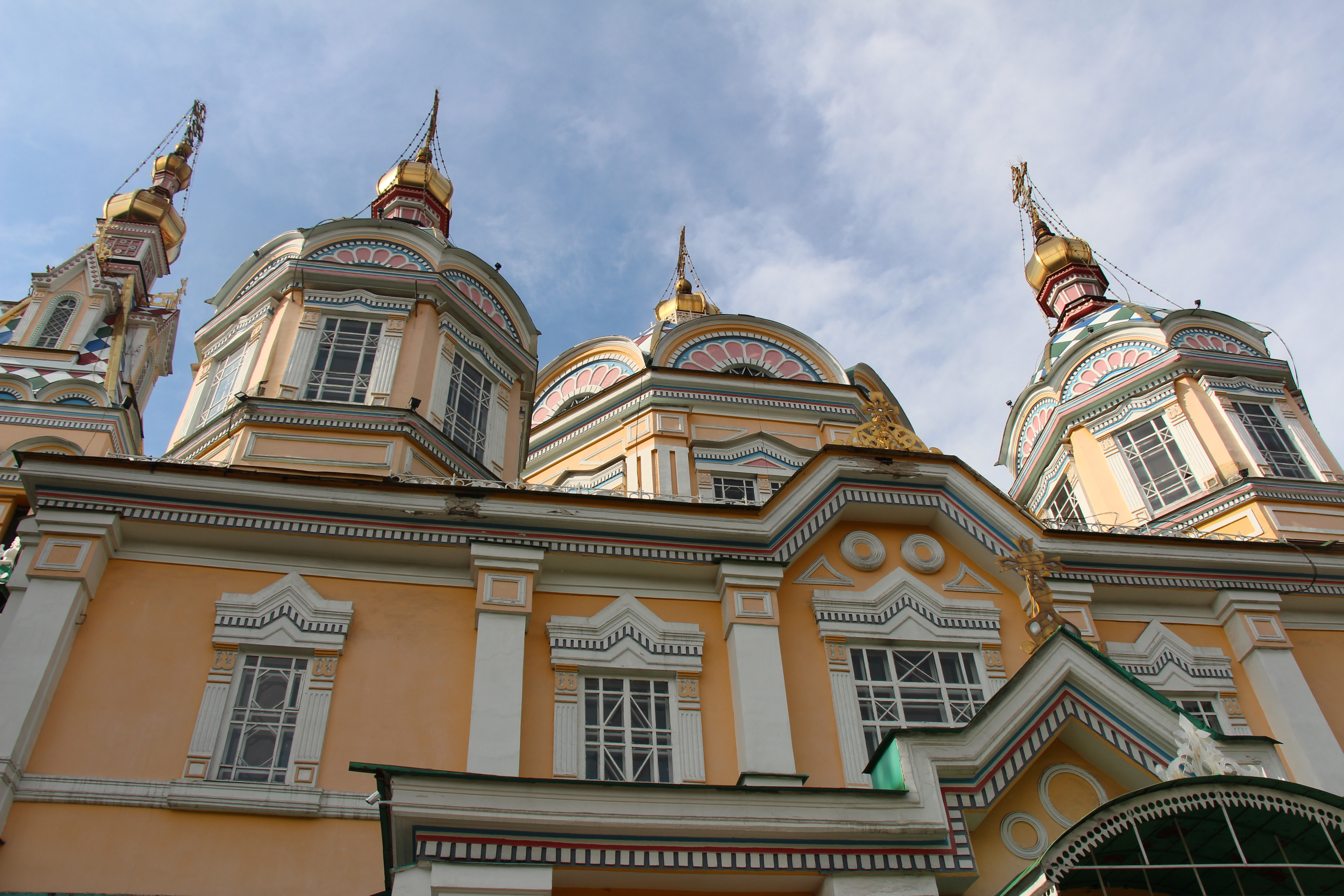 Zenkov Cathedral, the 2nd largest wooden Russian Orthodox Church.