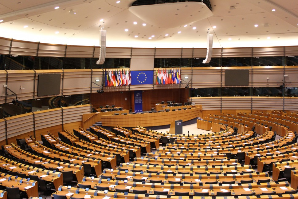 Chamber of European Union's Parliament