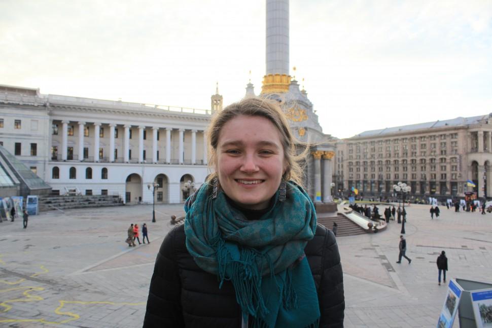 Ivona Kostyna, volunteer at Anti-Terrorist Operation zones in Eastern Ukraine