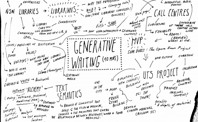 Generative Writing