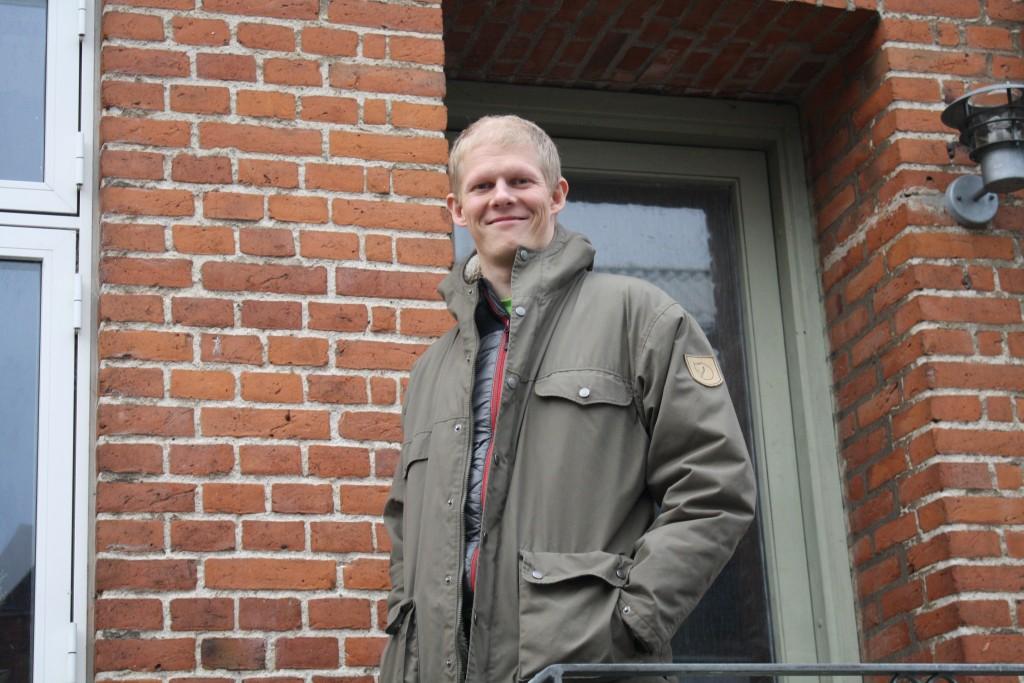 Christian Birck, 29. Tidligere kræftpatient. Nu formand i Kræftens Bekæmpelse Silkeborg.