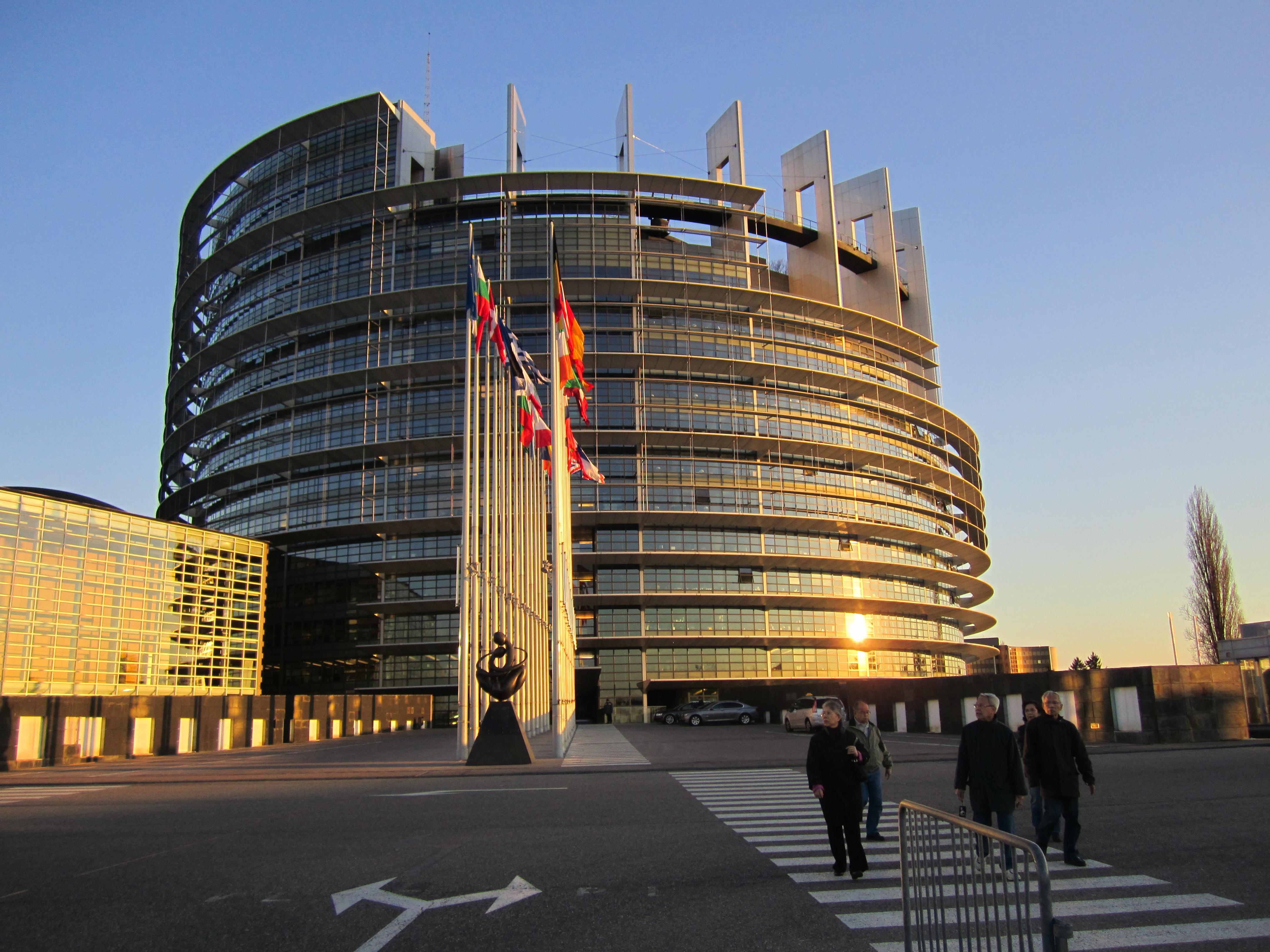 Parlamento Europeo, sede di Strasburgo (reportingtheeu2011.mediajungle.dk)