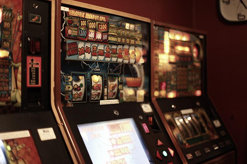 En del af overskuddet fra spilleautomaterne i Holstebro går i dag til lokale idrætsforeninger. Foto: Sarah Winther