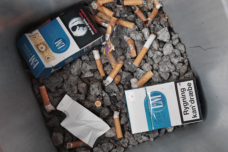Visse uddannelser tiltrækker flere rygere end andre. På uddannelserne for transport og logistik er der en overvægt af rygere. Foto: Sarah Winther