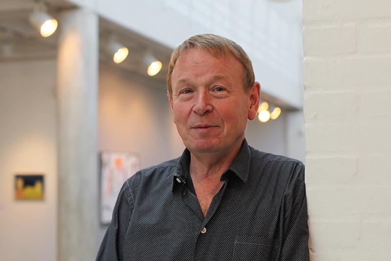 Folke Kjems har været direktør for Holstebro Kunstmuseum siden 1998, hvor han afløste Jesper Knudsen. Foto: Sarah Winther