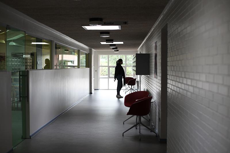 På voksenuddannelsescentret i Struer kan man både tage 10. klasse og HF. Foto: Sarah Winther