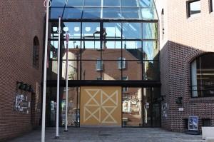 I aften holder Søren Ulrik Thomas foredrag på Holstebro bibliotek  Foto :// Sarah Marie Winther