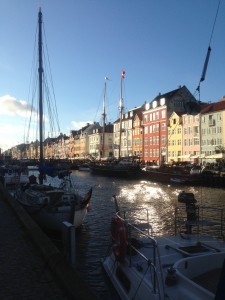 Figure 1: The famous Nyhavn strip; a source of inspiration for expats to make the move.  Credit: Andrew Roll