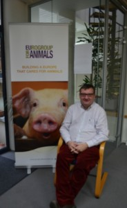 Martyn Griffiths of Eurogroup for animals has been advocating for animal welfare for over 20 years. Photo: Marie-Josée Kelly