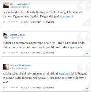 Tweets #Xgamesdk