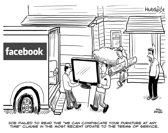 Læser du betingelserne for brugen af apps på Facebook? Måske siger du ja til mere, end du er klar over.
