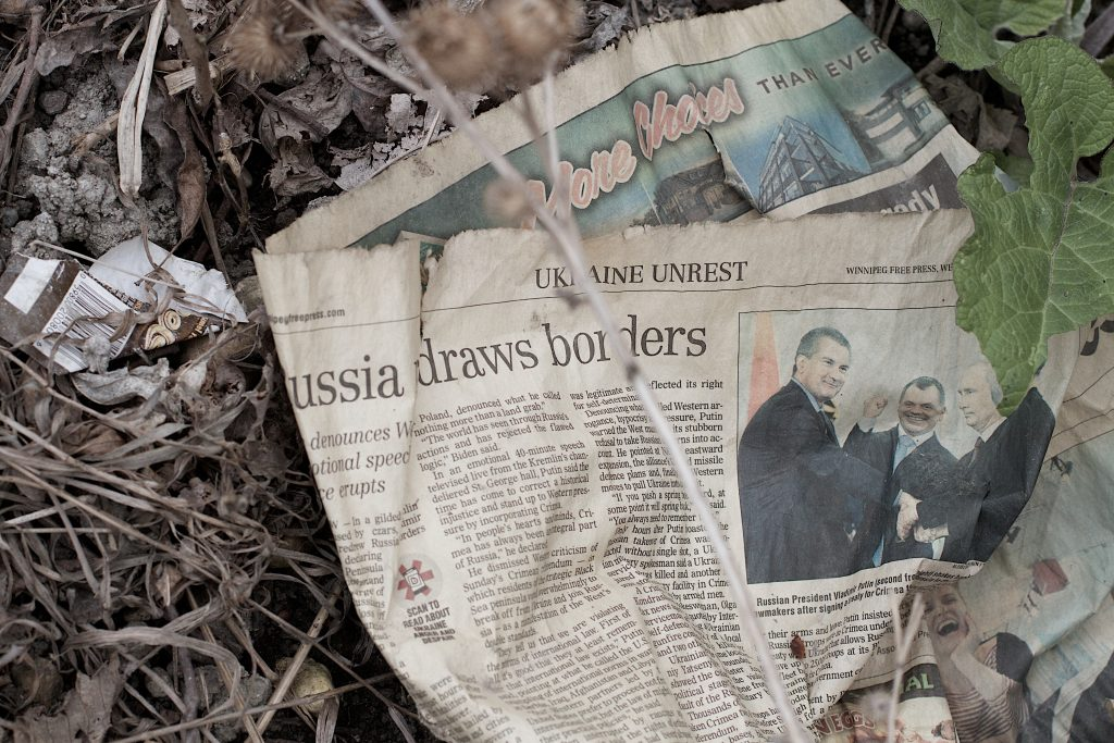 Classical newspapers are suffering from 'alternativ facts' from Russian websites