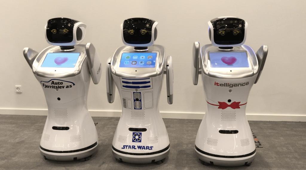 De dansende robotter kommer
